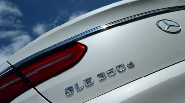 Mercedes GLE Coupe 2015 badge