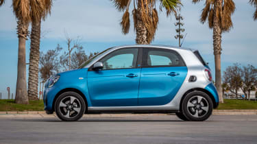 Smart EQ ForFour - side static