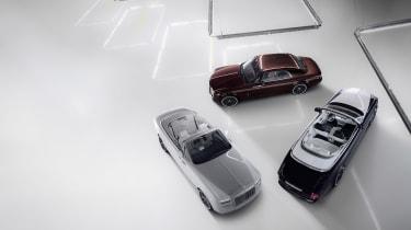 Rolls-Royce Phantom Zenith outside top