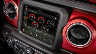 New Jeep Wrangler - infotainment