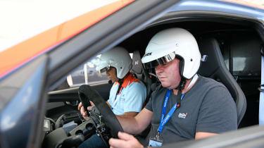 Hyundai RM19 - Sutcliffe driving
