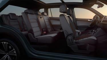 seat tarraco interior seats legroom