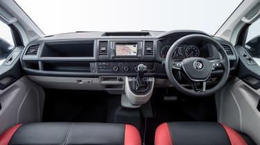 VW Transporter Sportline interior