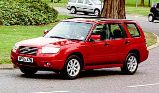 Side view of Subaru Forester