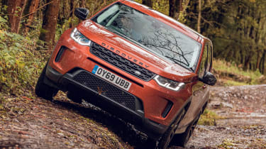 Land Rover Discovery Sport - front off-roading