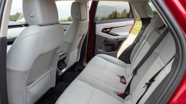 Range Rover Evoque rear seats