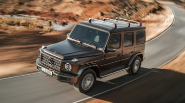 Mercedes G-Class - front cornering