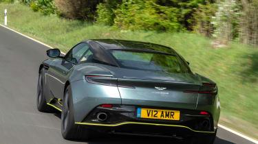 Aston Martin DB11 AMR - rear tracking