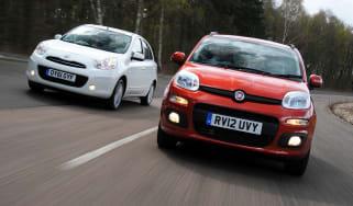 Fiat Panda TwinAir vs Nissan Micra
