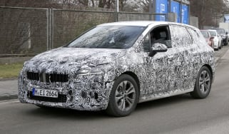 BMW 2 Series Tourer spy - front