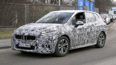 BMW 2 Series Tourer spy - front
