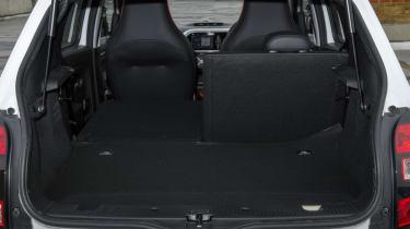 boot seat folded