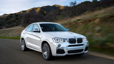 BMW X4 M40i - front tracking 2