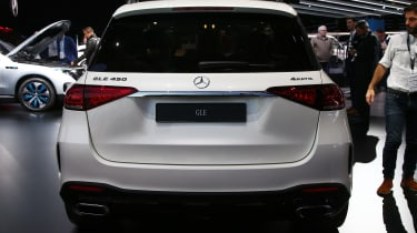 New Mercedes GLE rear end