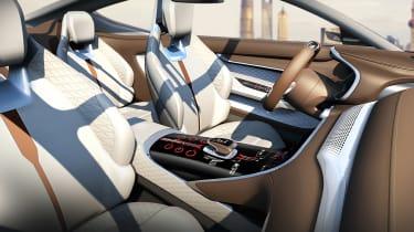 MG E-Motion concept interior