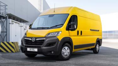 Vauxhall Movano-e - front yellow