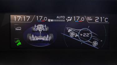 Subaru XV - screen