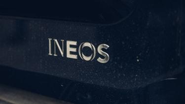 Ineos Grenadier prototype badge