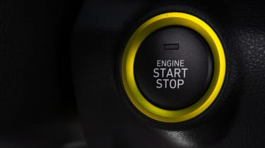 Hyundai Kona Premium SE 2017 - start/stop button