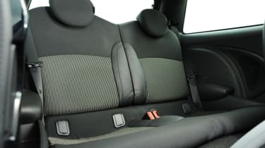 MINI JCW rear seats