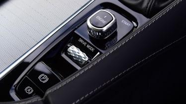 Volvo XC90 - centre console