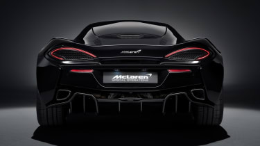 McLaren 570GT MSO Black Collection rear