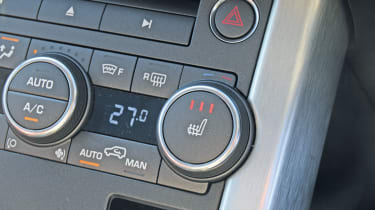 Range Rover Evoque interior detail