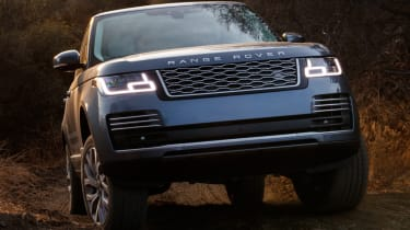 New Range Rover PHEV 2017 review - headlights