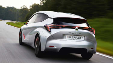 Renault EOLAB - rear action