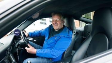Porsche 911 feature - interior