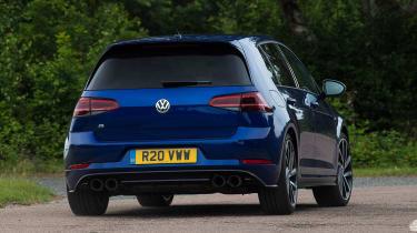 Volkswagen Golf R Performance Pack - rear cornering