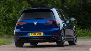 Volkswagen Golf R Performance Pack - rear cornering