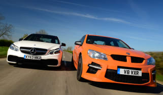 Vauxhall VXR8 GTS vs Mercedes E63 AMG