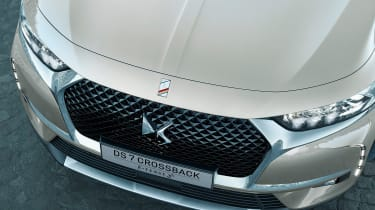 DS 7 Crossback E-Tense front grille