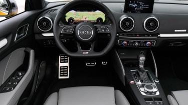 Audi S3 Cabriolet 2016 - interior