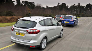 Ford C-MAX vs Rivals