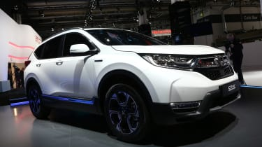 Frankfurt - Honda CR-V Hybrid Prototype - front quarter