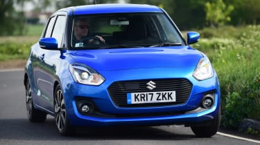 Suzuki Swift - front cornering