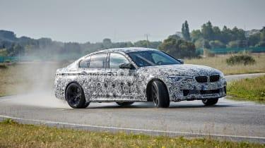 BMW M5 prototype - front drift