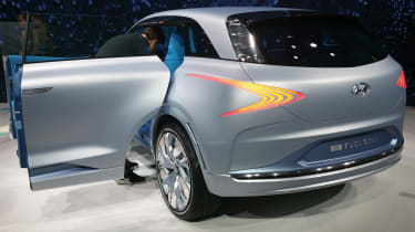 Hyundai FE Fuel Cell Concept Geneva - rear