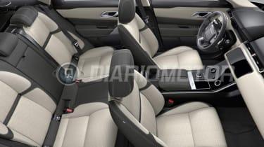 Range Rover Velar - leaked seats