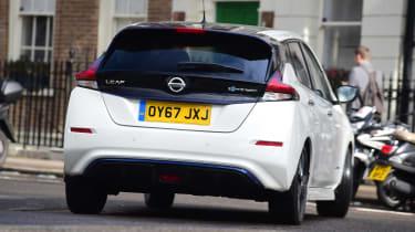 Nissan Leaf - rear