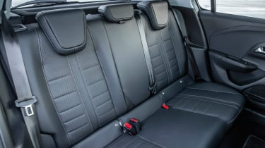 Vauxhall Corsa - rear seats