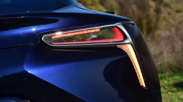 Lexus LC 500h - rear light detail