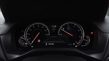 BMW X3 - speedo