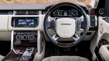 Used Range Rover - dash