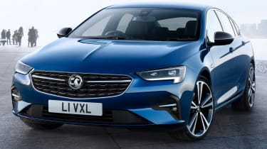 2020 Vauxhall Insignia facelift - front 3/4 static