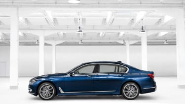 BMW 7 Series THE NEXT 100 YEARS - side profile