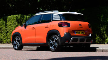Citroen C3 Aircross long-term test - rear