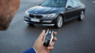 New 2015 BMW 7-Series remote park